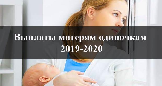 Пособие для матери одиночки в России в 2019-2020 году