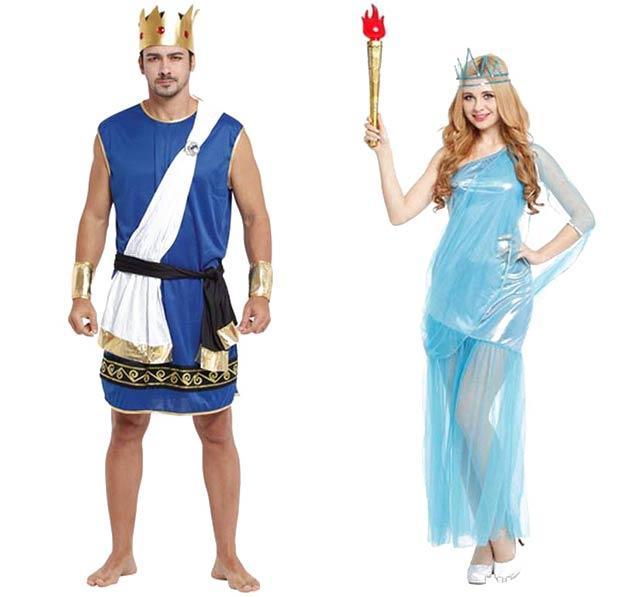 Встречаем Новый год 2020 в костюмах богов