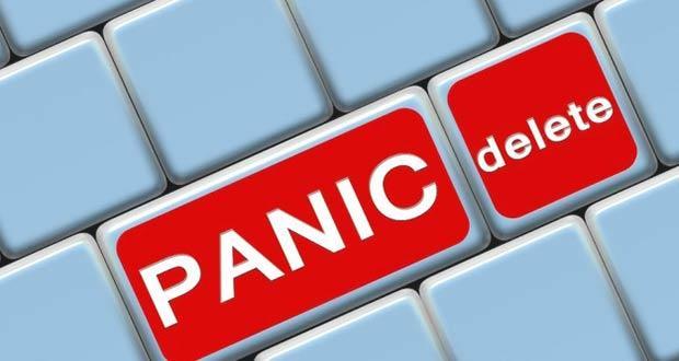 Кнопка на клавиатуре - Стоп паника