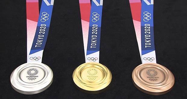 Красивые ленты к олимпийским наградам в Токио