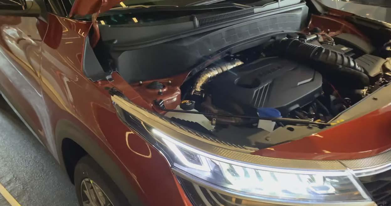 Двигатель Kia Seltos 2020