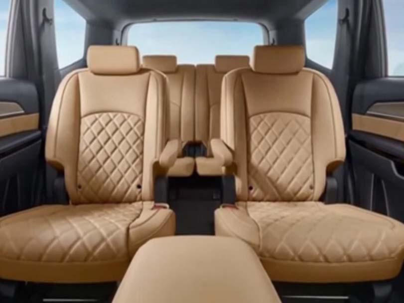 Kia Mohave в новом кузове - салон- задние сидения фото