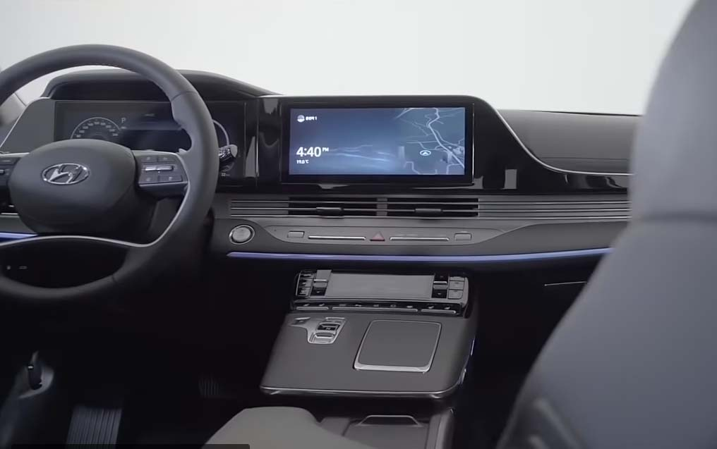 Hyundai Grandeur 2020 фото салона