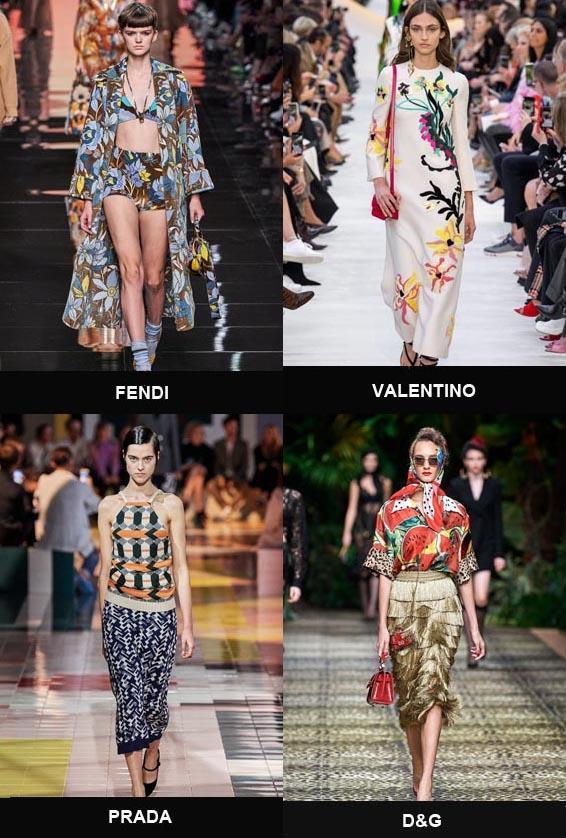 Модные расцветки в одежде весна-лето 2020
