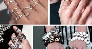 Модная бижутерия в 2020- кольца