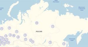 Коронавирус в России: карта