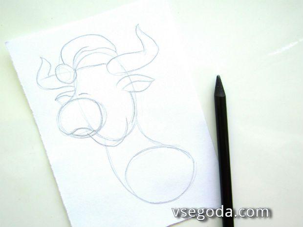 2-й этап рисования