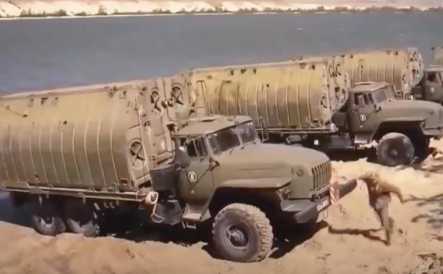 Военные автомобили - инженерные войска